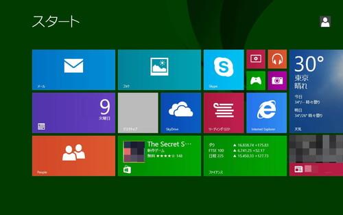 8インチWindowsタブレット